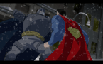Batman about to kill superman