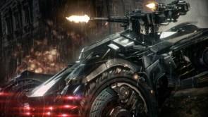 Batmobile with guns