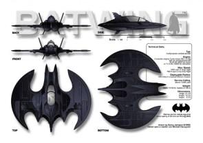 Batwing Technical Data