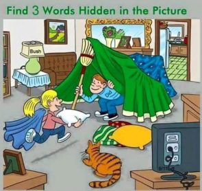 Find Three Words