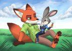 Fox and Bunny