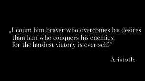 I count him braver
