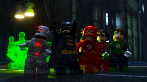 Lego Batman and the Lego JLA