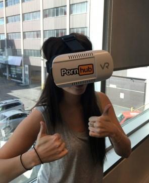 PornHUB VR machine