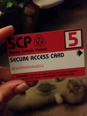 SCP  Access Card