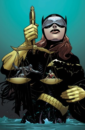 Scales of batgirl's justice