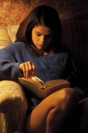 Selena Reading a book