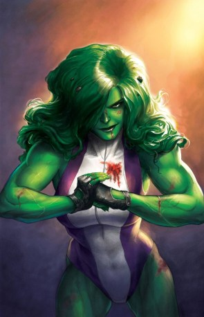 She Hulk gets messy
