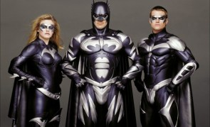 Silver Batfamily from Batman & Robin