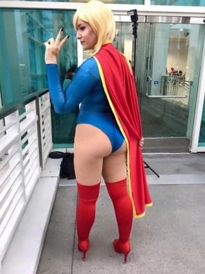 Tenleid Cosplay as Supergirl