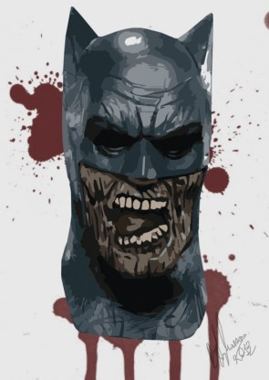 Zombie batman by Peter Stylianou
