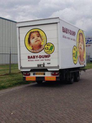 baby dump truck