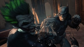 batman punches his lover in the mouth