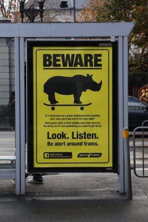beware – look, listen