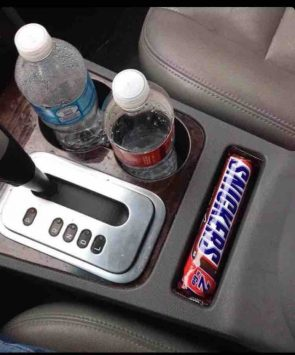 perfect candy bar holder