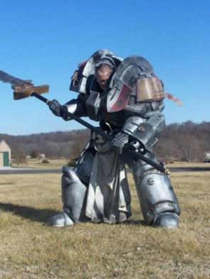 warhammer cosplayer