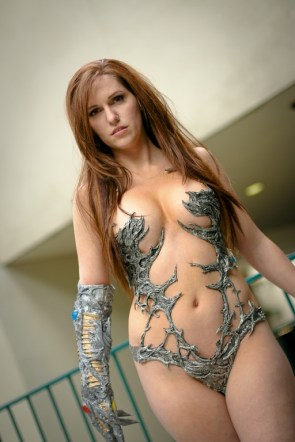 witchblade cosplayer