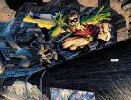 Batman and Robin hitchin a Ride