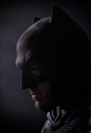 Batman in profile