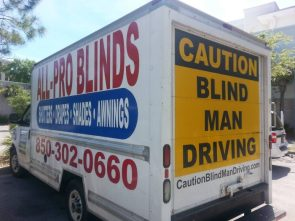 Blind Man Driving