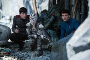 Bones, Spock and White Alien