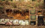 CRT Television Graveyard