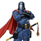 Cobra Commander has a sword