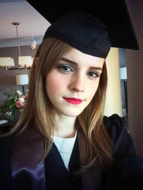 Emma Watson – Graduation