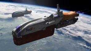 FedEx Express Ships