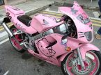Hello Kitty Sports Bike