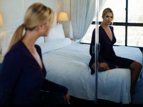 Ivana Trump in bed