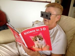Kittens in 3d