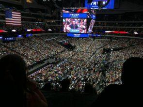 Massive Trump Rally