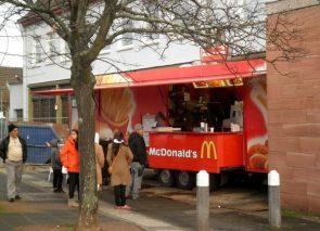 McDonalds Food Truck