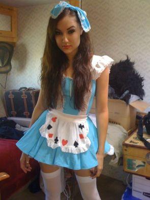 Sasha as Alice