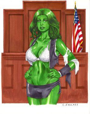 She Hulk american justice