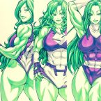 She Hulk custom costumes