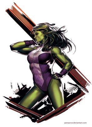 She Hulk girders