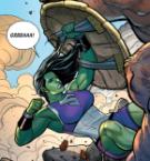 She Hulk has a shield