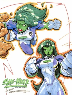 She Hulk has big hands