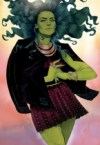 She Hulk has crazy hair