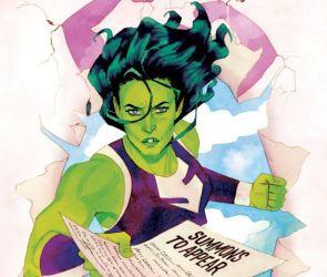 She Hulk has summons paperwork