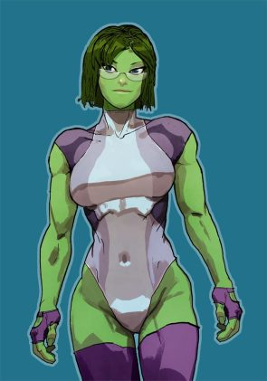 She Hulk in a one piece