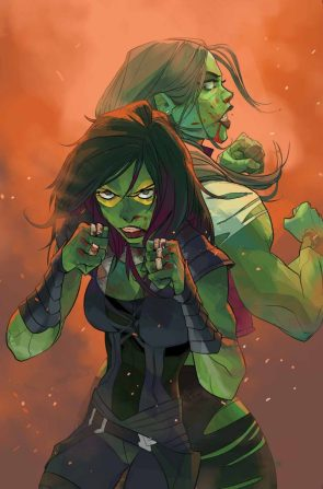 She Hulk is a boxer