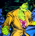 She Hulk is angry but still fashionable