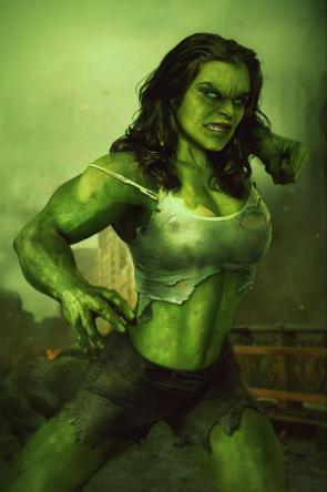 She Hulk is angry