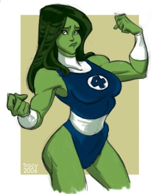 She Hulk is confused