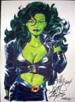 She Hulk is fashionable