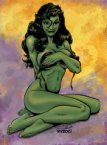 She Hulk is losing her top