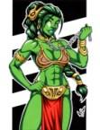 She Hulk is slave leia